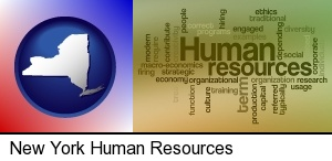 New York, New York - human resources concepts